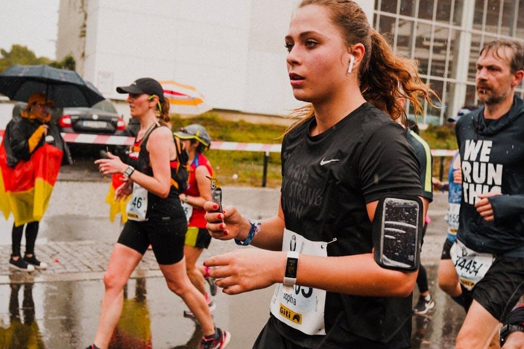 Sophia Flörsch läuft beim Berlin Marathon