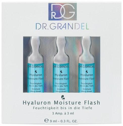 Blaue DR. GRANDEL Hyaluron Moisture Flash Ampulle