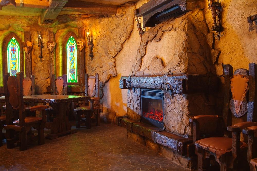 Mittelalterliche raumgestaltung schafft einen dramatischen for Raumgestaltung im alter