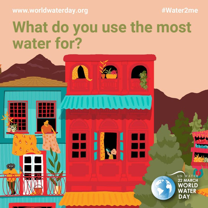 Poster World Water Day 2021