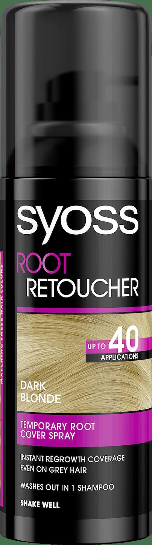 Syoss Root Retoucher Тъмно рус pack shot