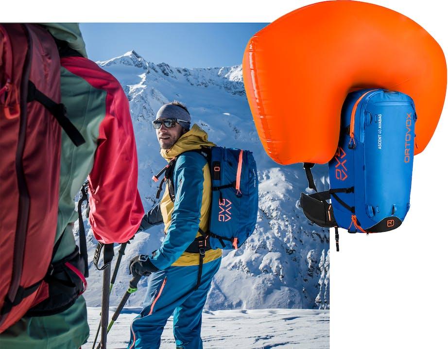 Avabag Ascent Skitouren Lawinenrucksack - Ortovox