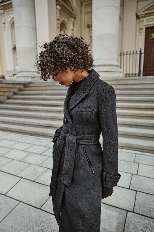wełniany płaszcz ORSAY