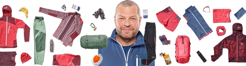 Thomas Moe, der Mountainwear-Productmanager  Ortovox