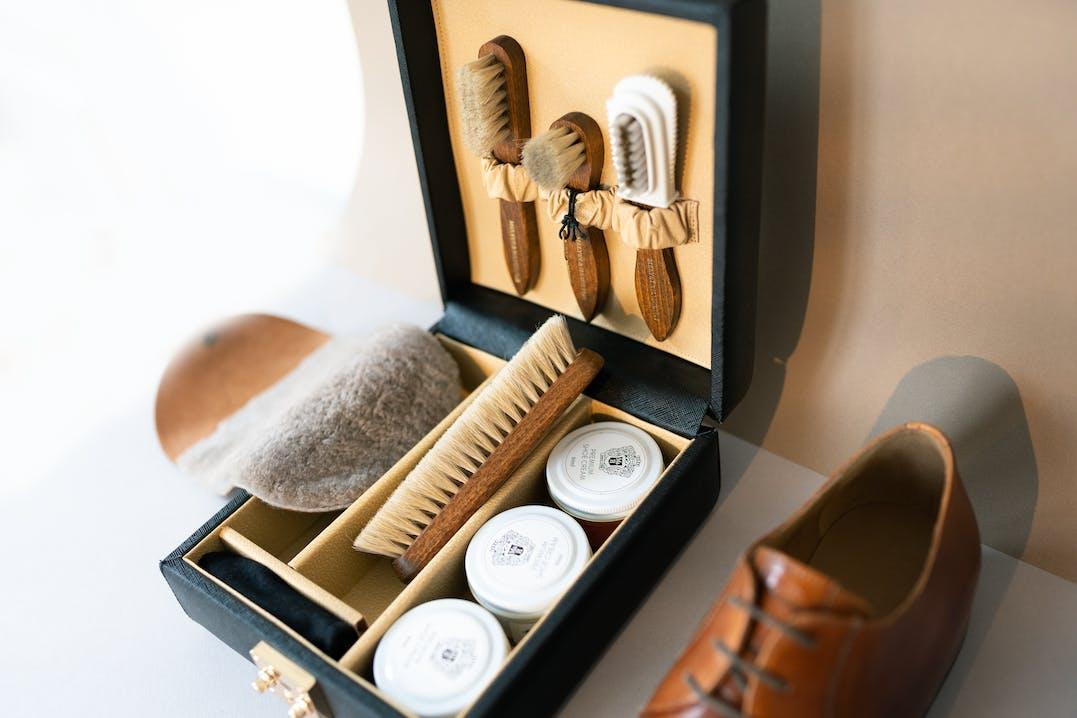 Schuhpflegebox Alessia Melvin & Hamilton