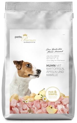 pets Premium - Trockenfutter - Soft Huhn mit Kartoffeln, Äpfeln und Kamille (getreidefrei)