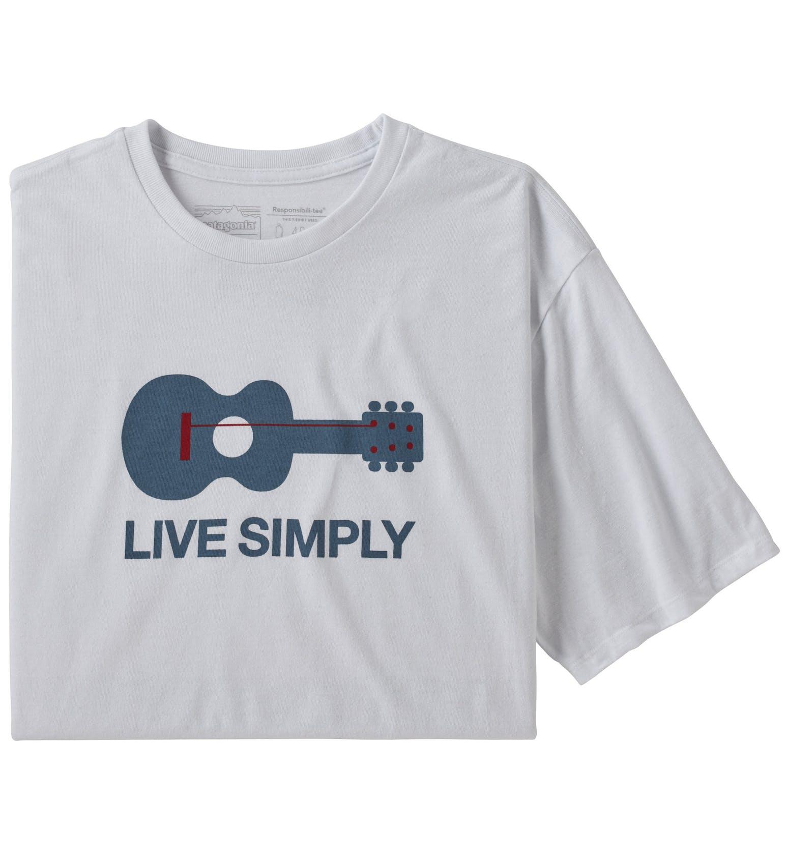 Patagonia Live Simply® Guitar Responsibili-Tee®- T-shirt - uomo