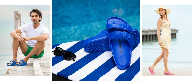 Arizona EVA Modelle von Birkenstock, ideal für den Strand