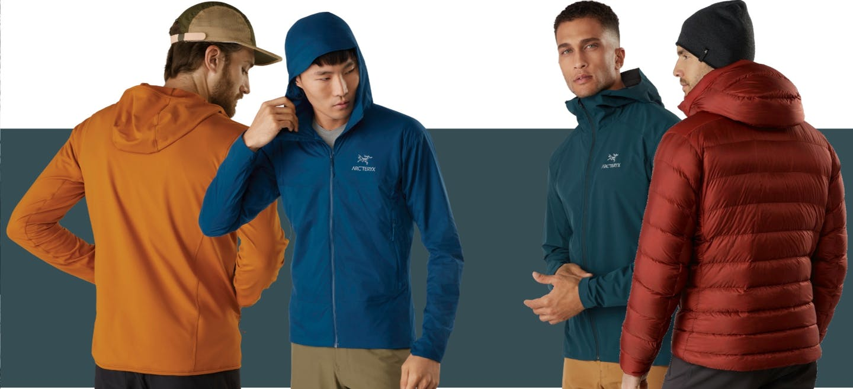 Onlineshop Arcteryx Alpinbekleidung Herren