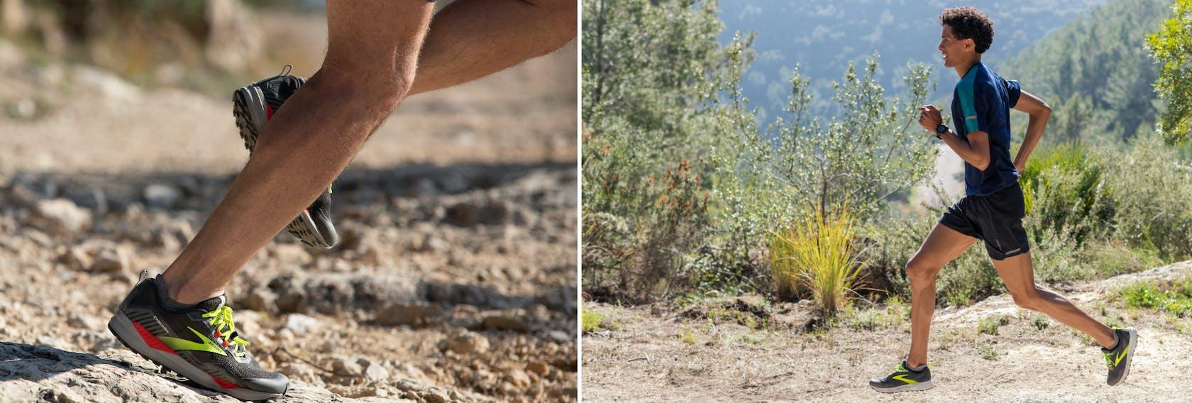 Brooks scarpe trail uomo