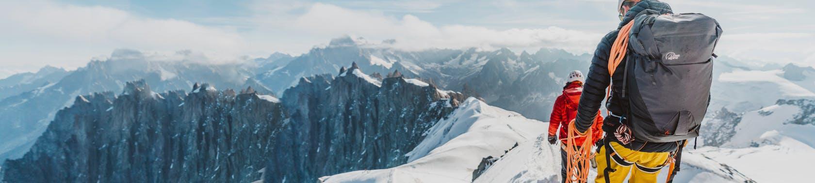Ausrüstung Bergsteigen