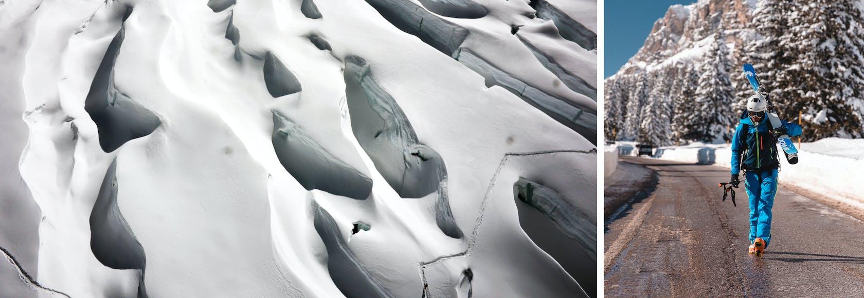 Collezione scialpinismo Karpos donna uomo