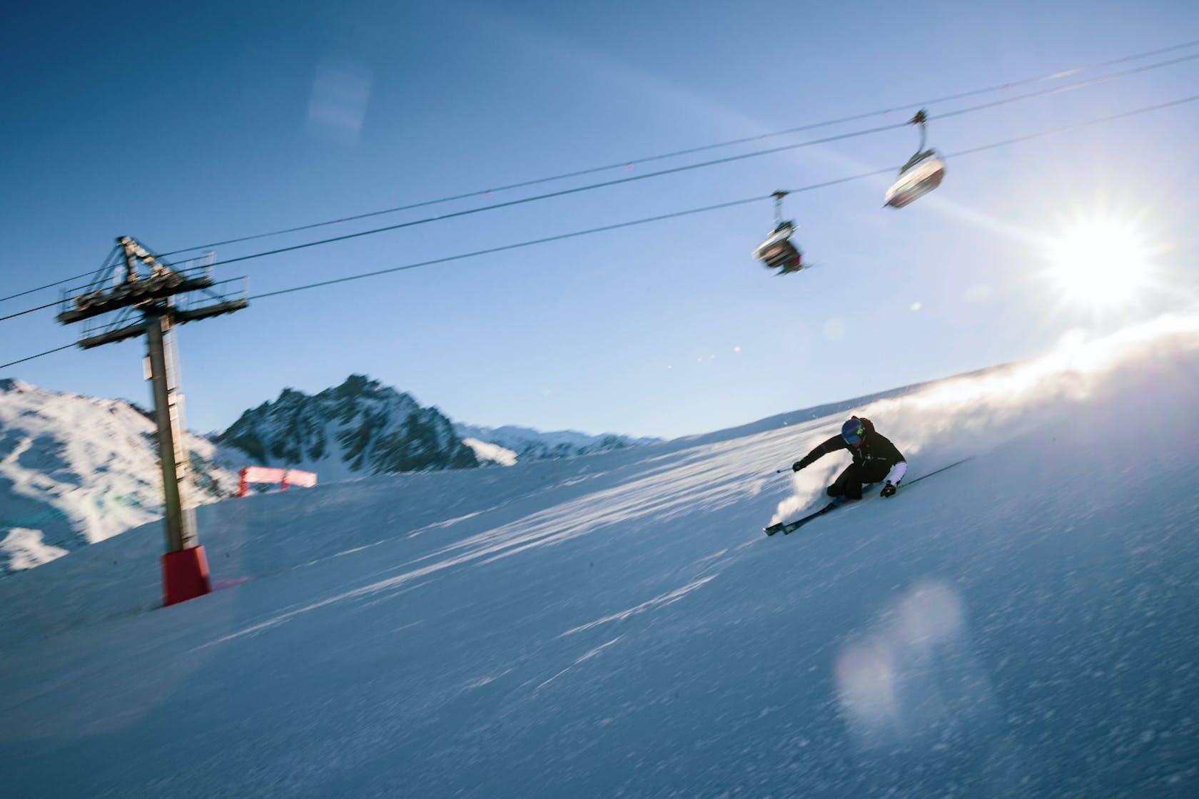 Salomon Ski Race