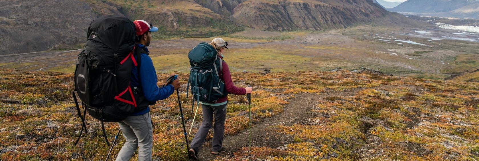 Osprey Rucksäcke zum Trekking und Backpacking