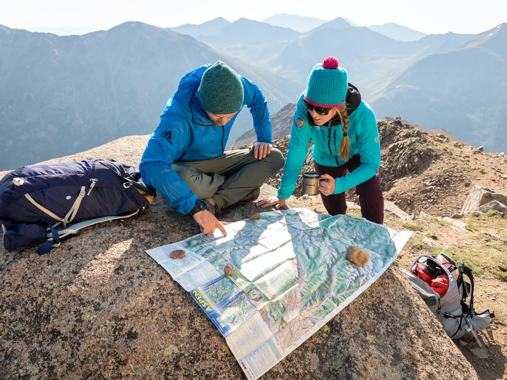 Osprey Rucksäcke zum Bergsteigen