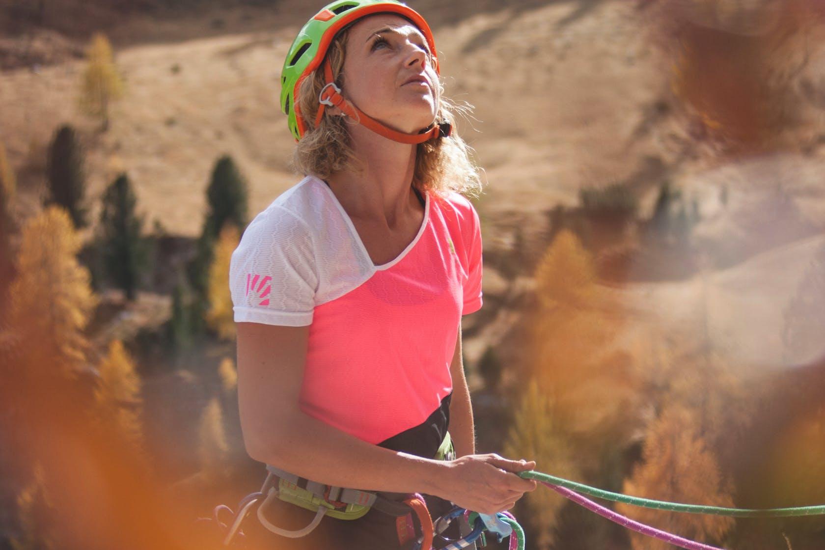 Collezione abbigliamento alpino Karpos Donna