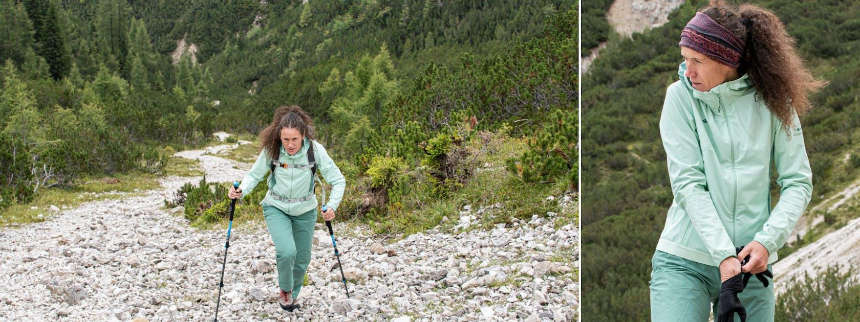 Kaikkialla shop online sport di montagna donna abbigliamento alpinismo