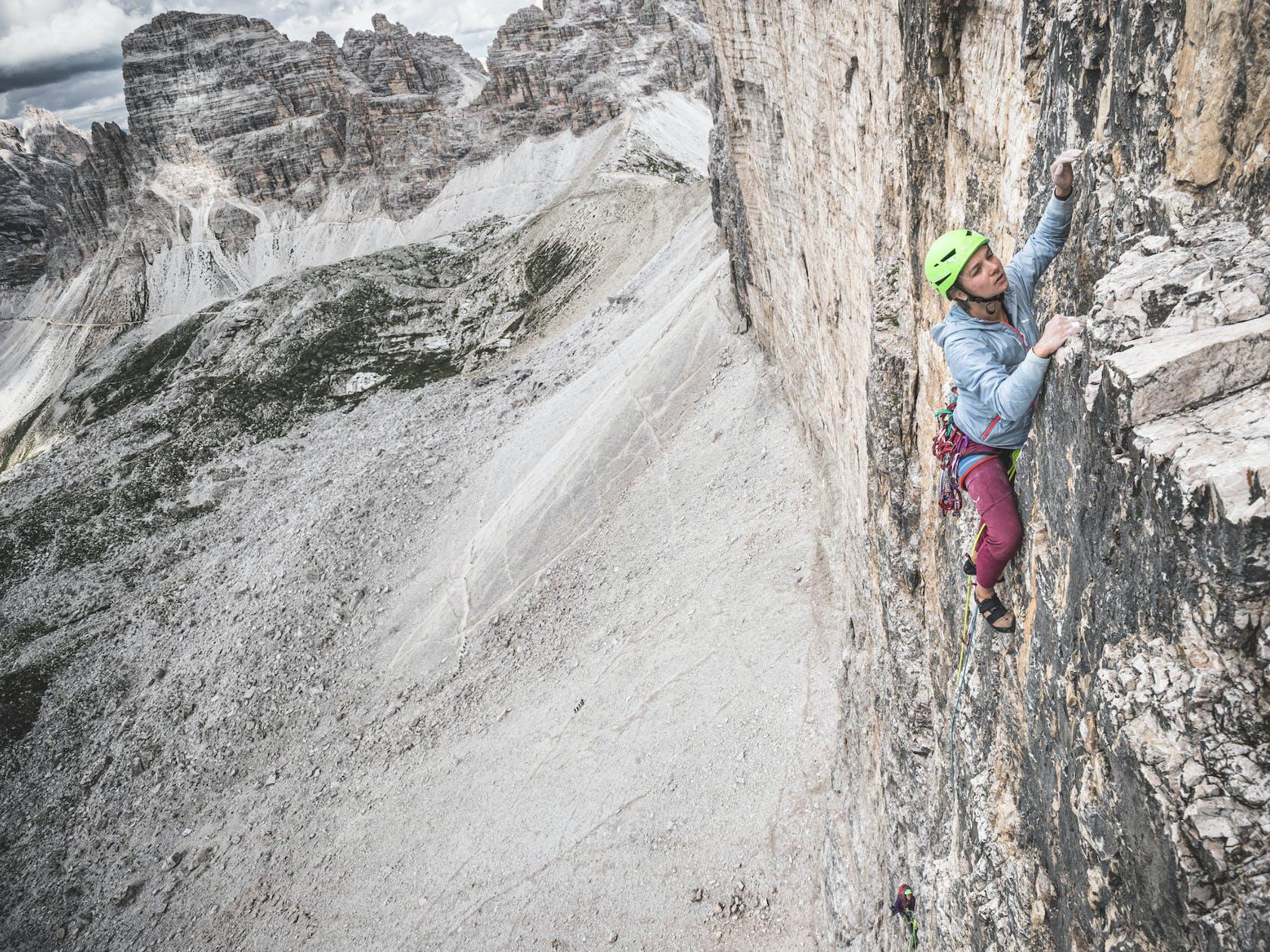 Salewa Alpines Klettern
