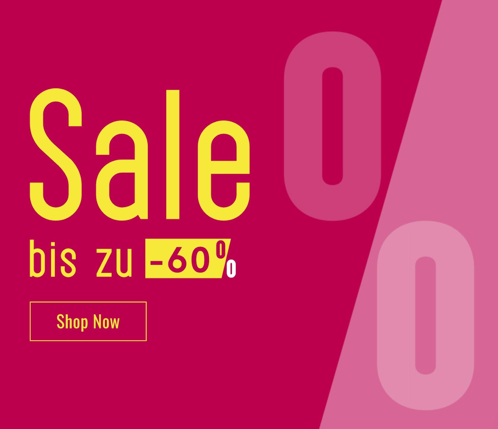Sale bis zu -60%