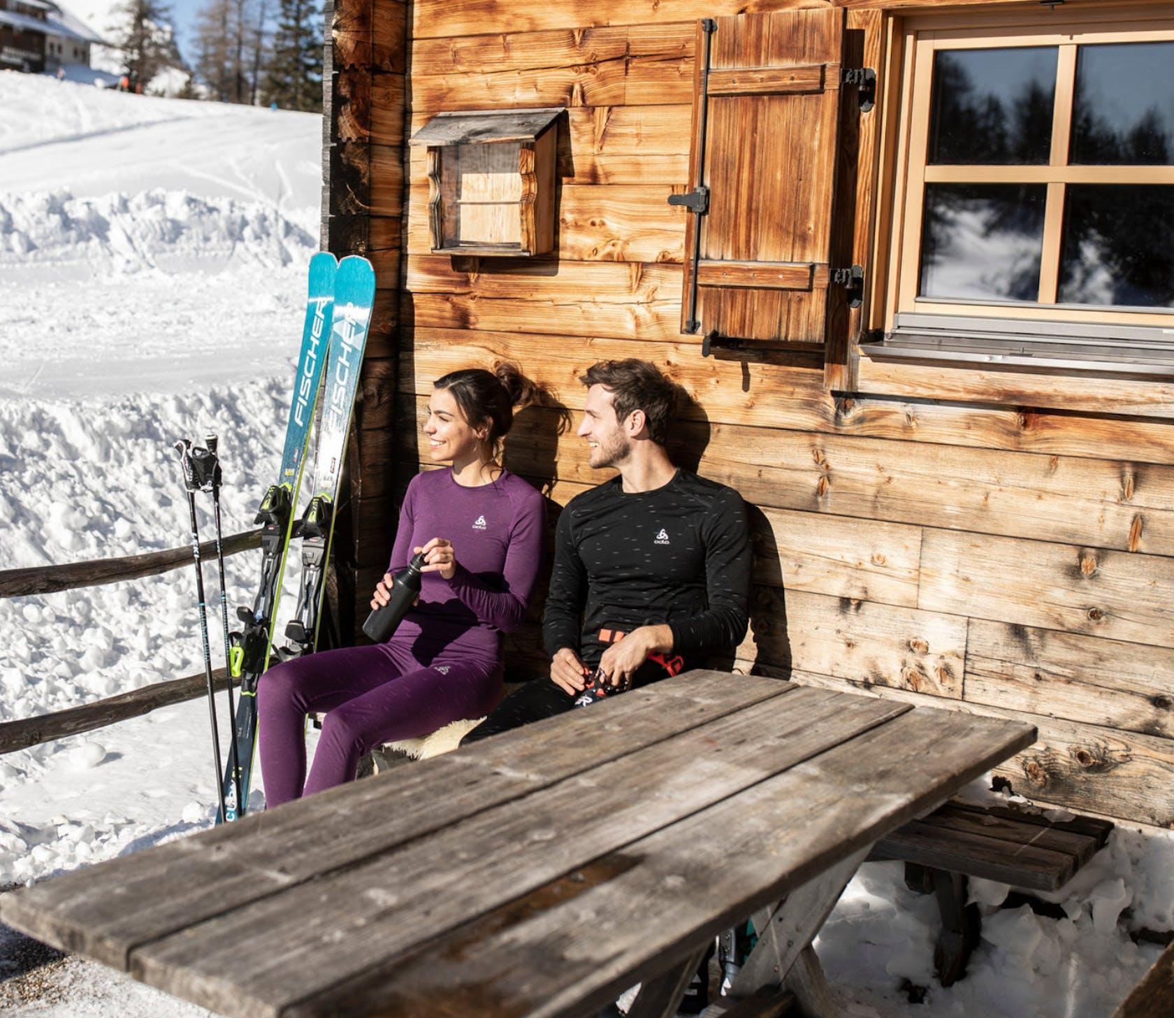 Sportunterwäsche Skitouren