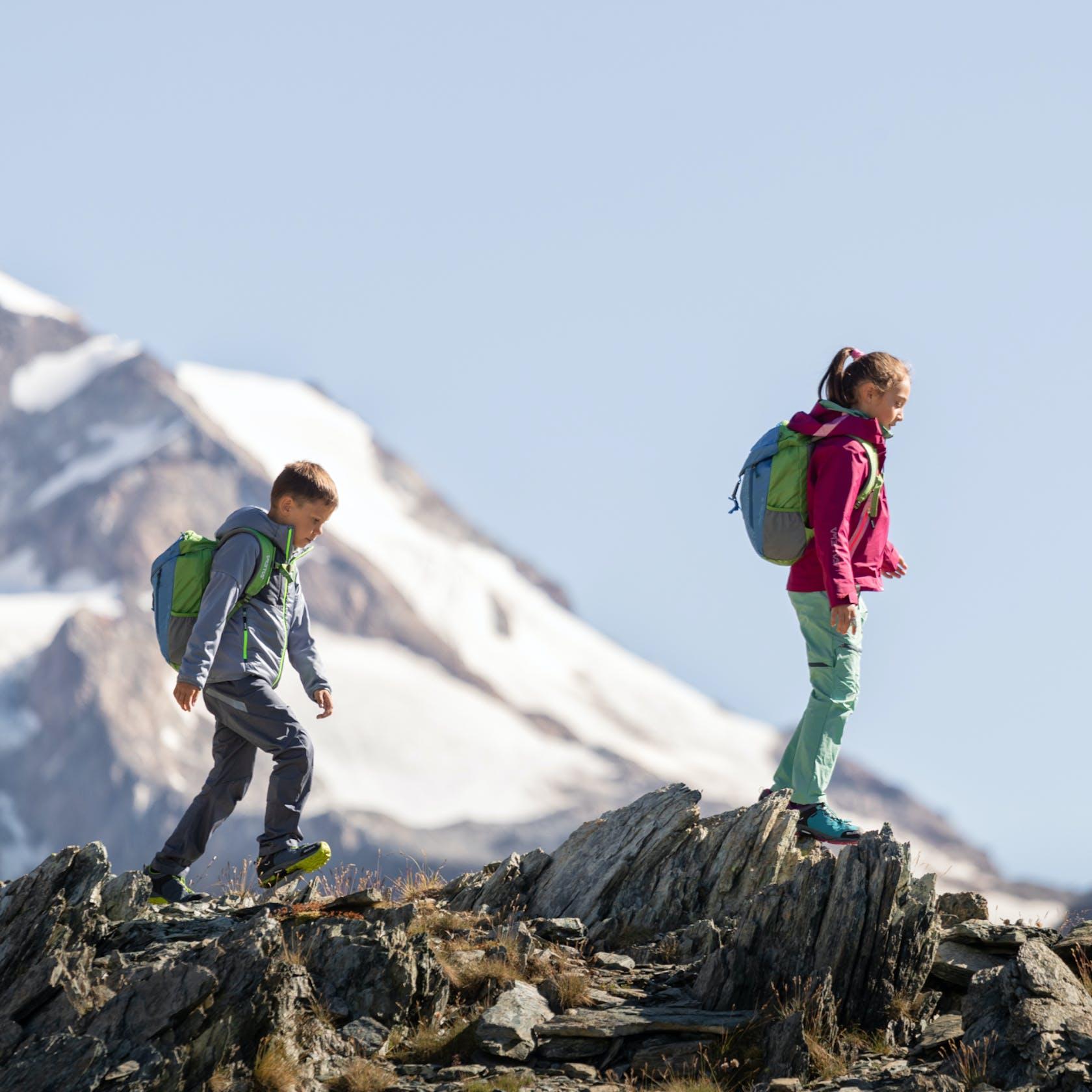 Abbigliamento bambino trekking