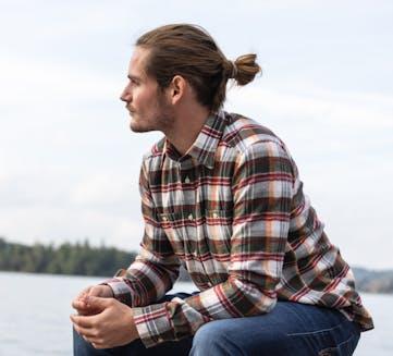 Meru Waimate Man - Langarmhemd Trekking - Herren