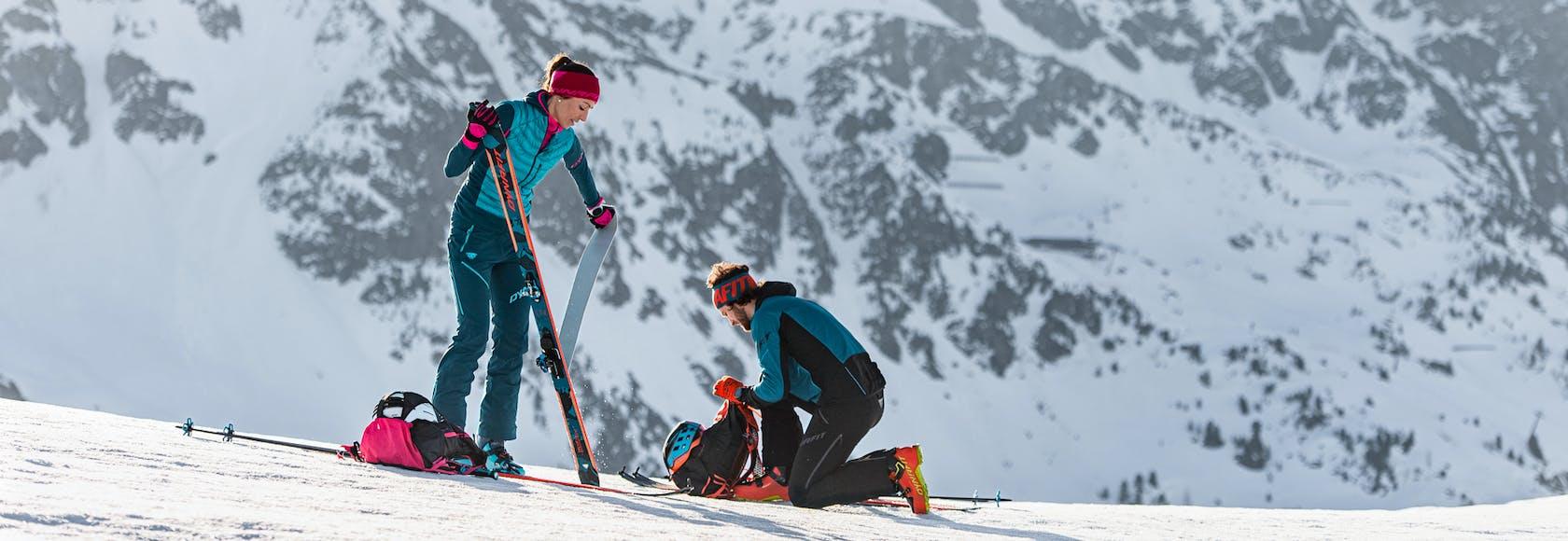 Skitouren Dynafit Ausrüstung