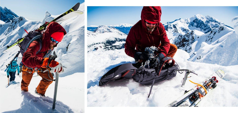 RAB Skitourenbekleidung Herren