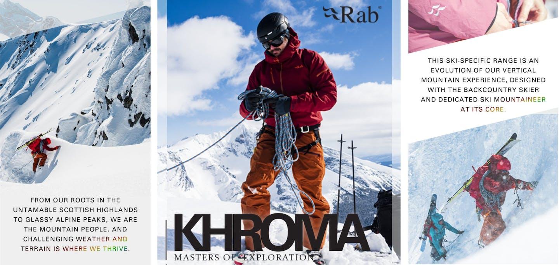 Jacken  von RAB für Alpinisten