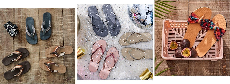 Havaianas Sandalen und Flip Flops