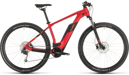 Cube Reaction Hybrid One 500 Red (2020) - eMountainbike