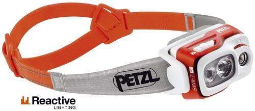 Petzl Swift RL 900 Lumen - Stirnlampe
