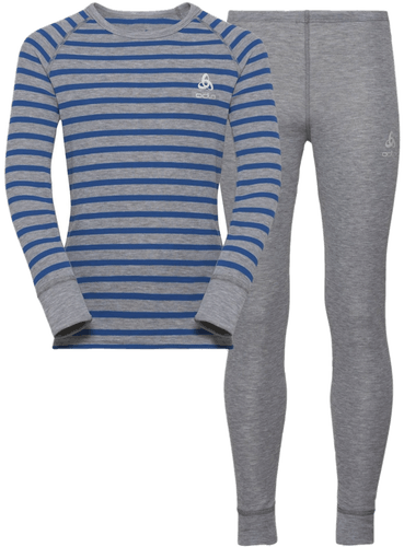 Odlo Warm Kids Shirt Pants Long Set - Unterwäsche Komplet - Kinder
