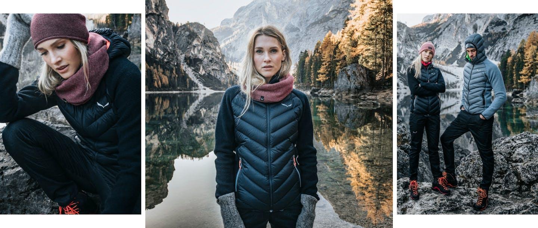 Fanes Sarner Down Hybrid Jacke für Damen