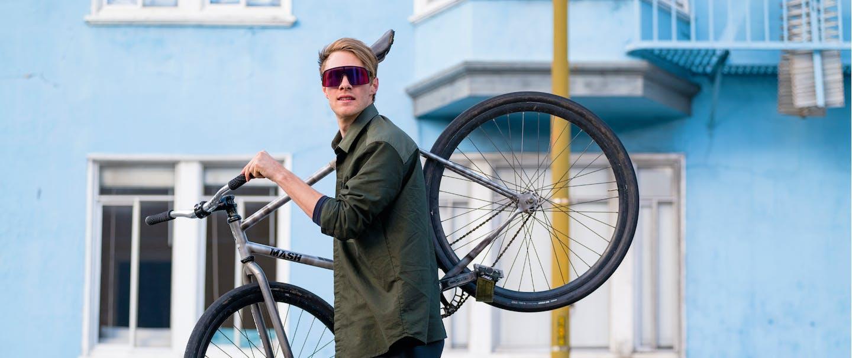 Fahrradbrillen mit attraktivem Design
