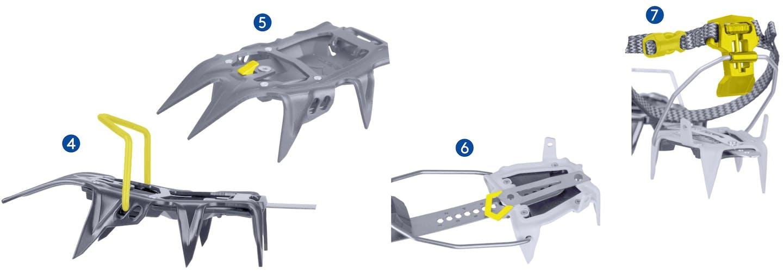 SALEWA Alpinist Pro - automatische Steigeisen