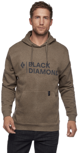 Black Diamond Stacked Logo Hoody - Kapuzenpullover - Herren