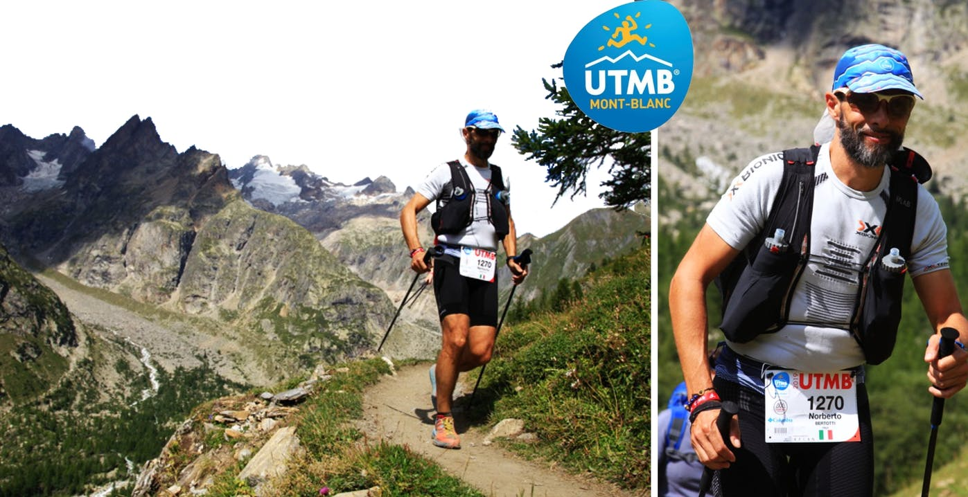 Norberto beim UTMB Mont Blanc