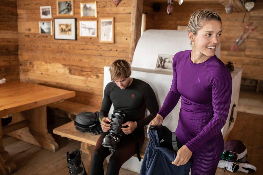 Funktionelle Sportunterwäsche soll warm und trocken halten
