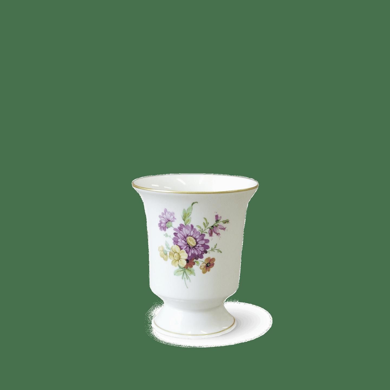 Vase, BECHERFORM, auf Fuß