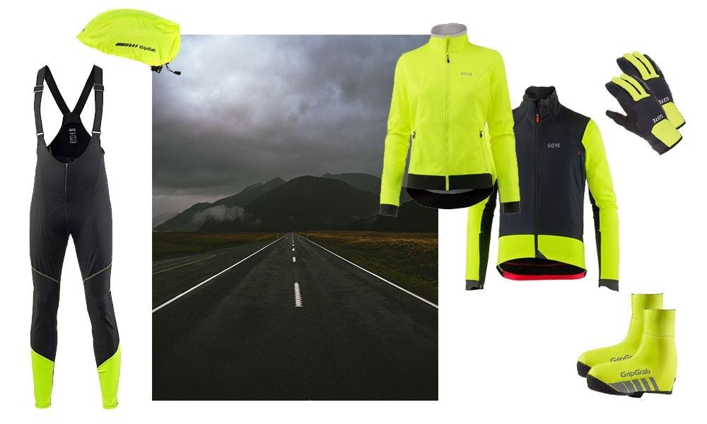 Die richtige Kleidung zum Fahrradfahren in der Dunkelheit