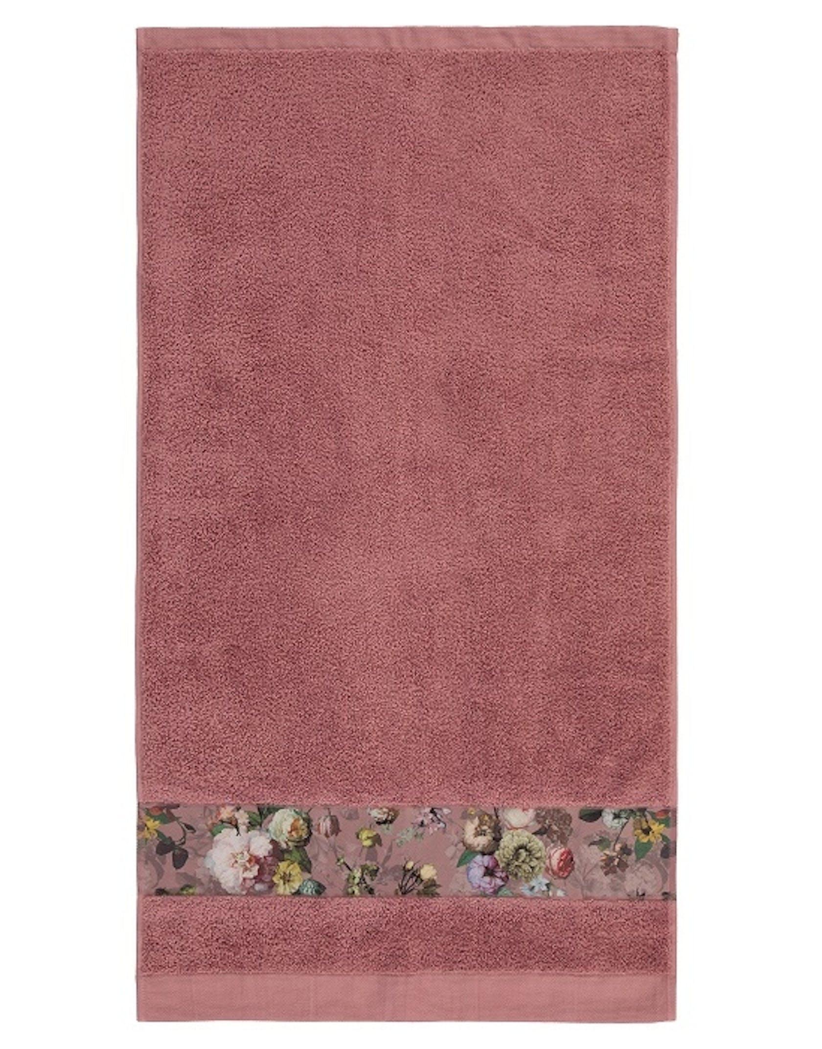 ESSENZA Fleur Handdoek Dusty Rose