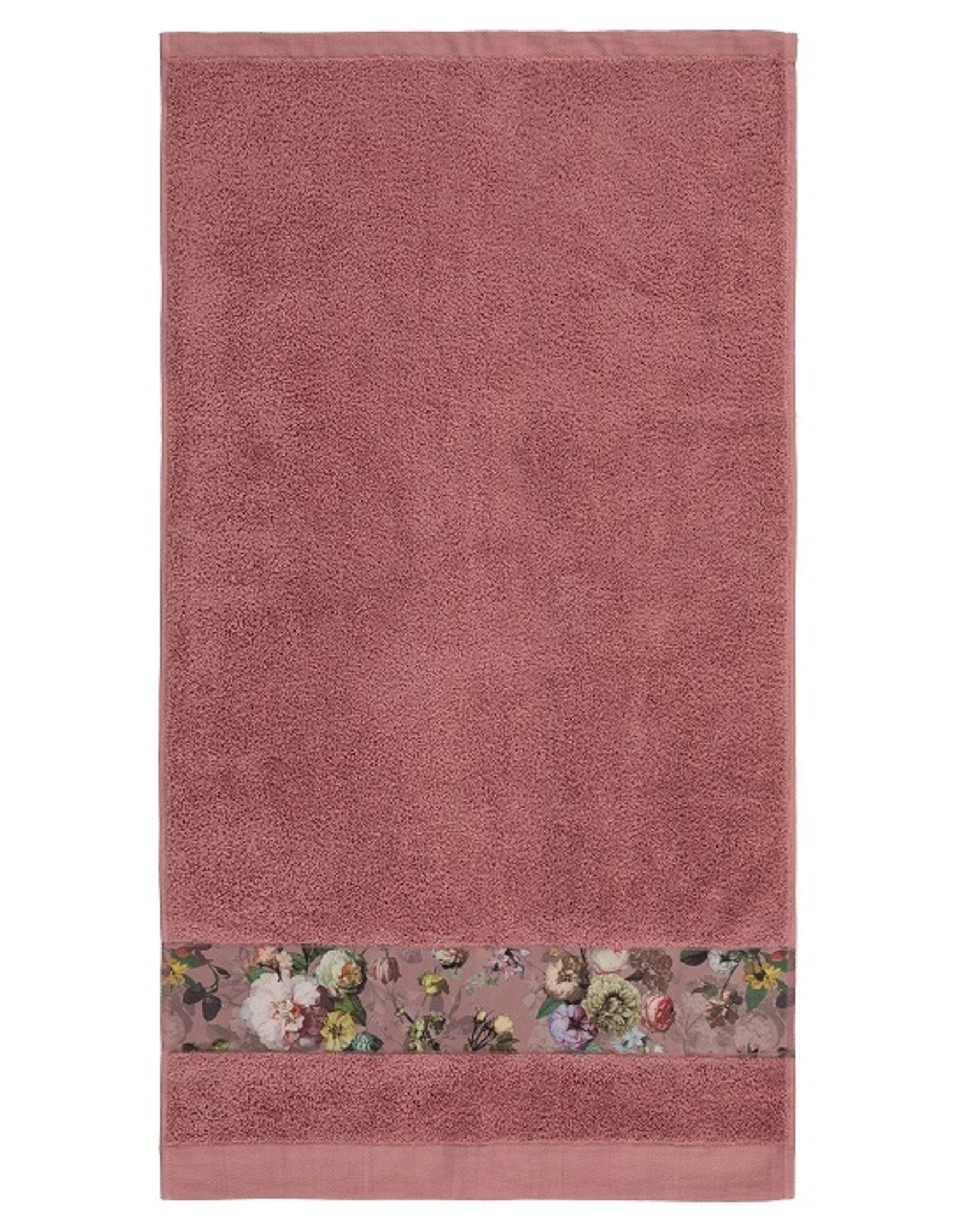 ESSENZA Fleur Handdoek Dusty Rose