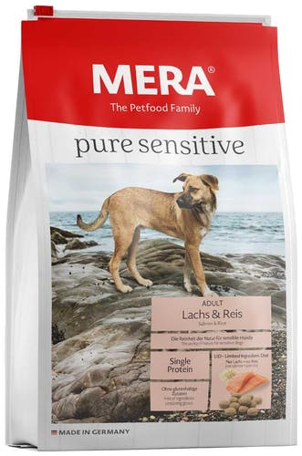 Mera - Trockenfutter - Pure Sensitive Adult Lachs & Reis