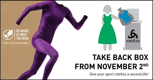 ODLO Take Back: Give your sport clothes a second life!