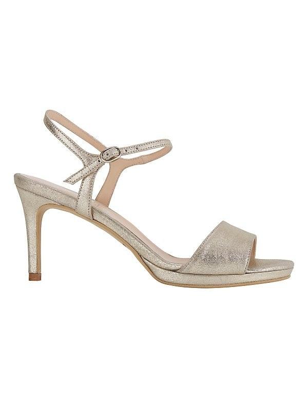 Sandalette mit Pfennigabsatz