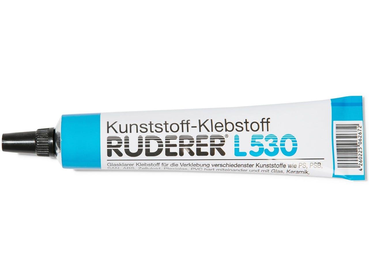 Kunststoff-Kleber, Ruderer L530, Tube 20 g