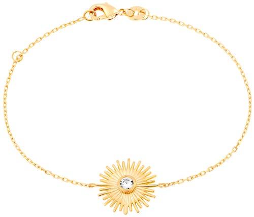Ce Bracelet YUCATÁN CONSTELLATION est en Plaqué Or Jaune et Oxyde Blanc