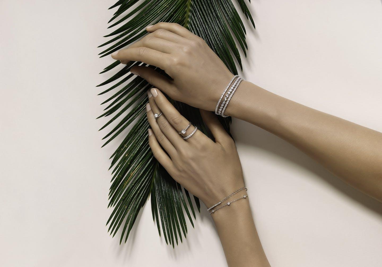 Bijoux Live Diamond diamants synthétiques