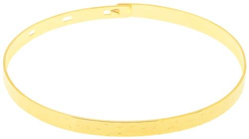 Ce Bracelet YUCATÁN est en Plaqué Or